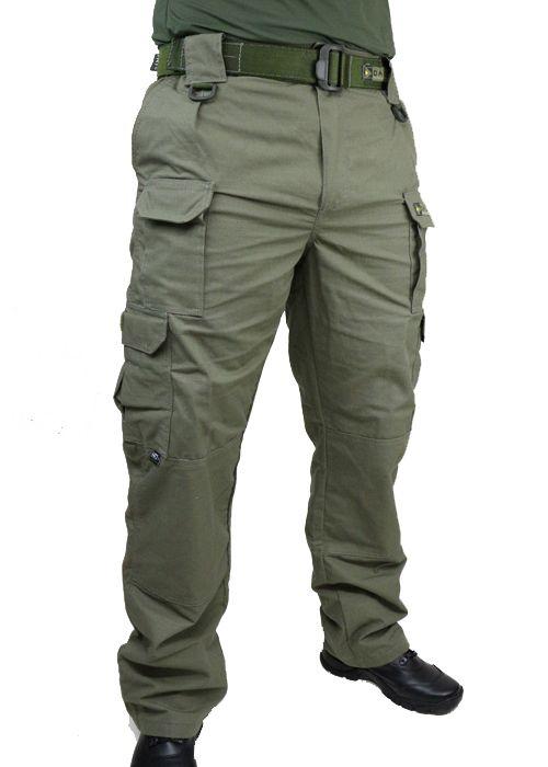 Calça Tática Militar HRT - Ripstop VERDE - Tactical Dacs