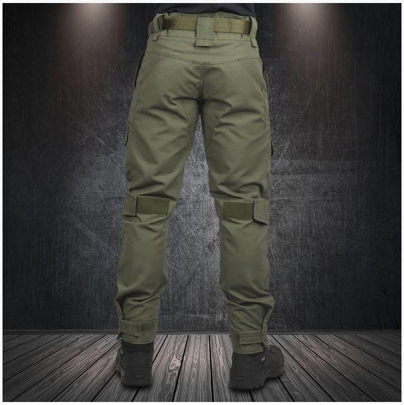 Calça Tática Militar Ripstop Mb Strike C/ Joelheira 6 Bolsos
