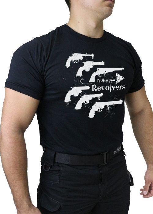 Camiseta Hunting PRETA TACTICAL DACS