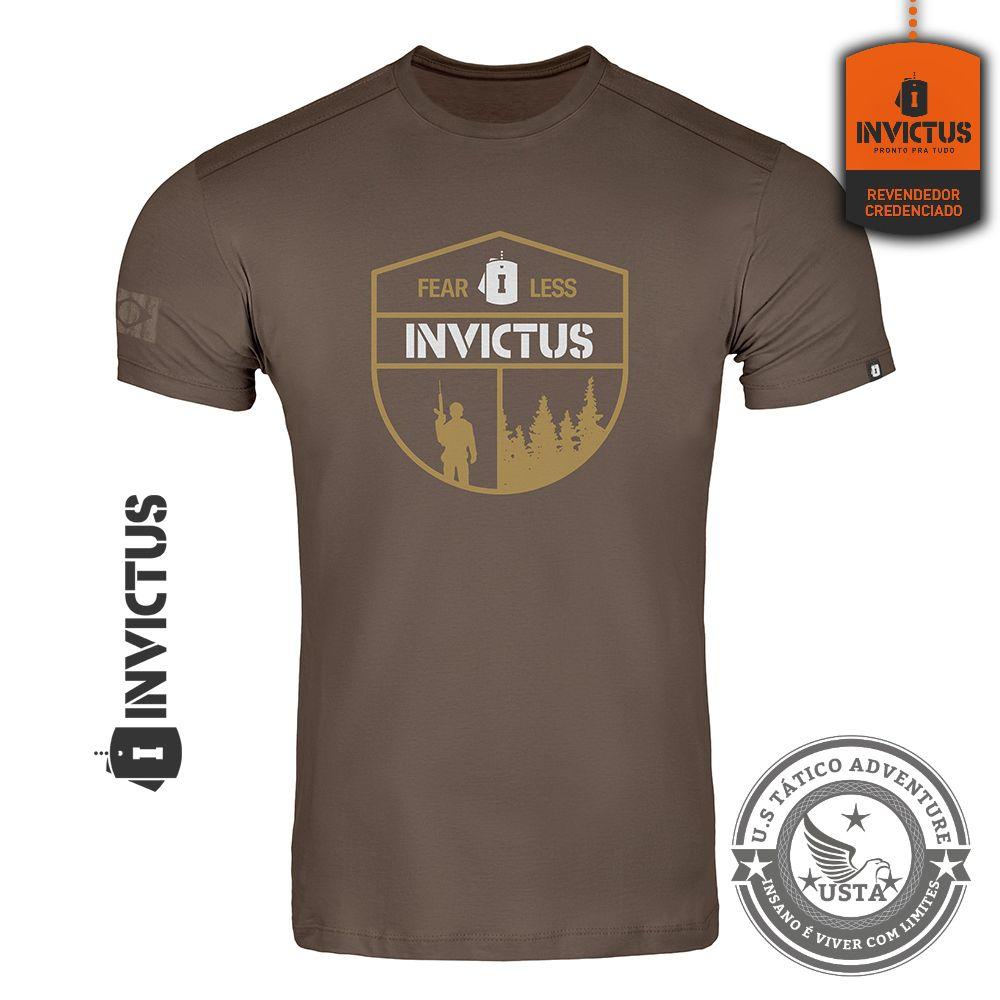 Camiseta T-shirt Concept Invictus Fearless
