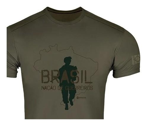 Camiseta Tática T-shirt Concept Gigante Algodão Invictus