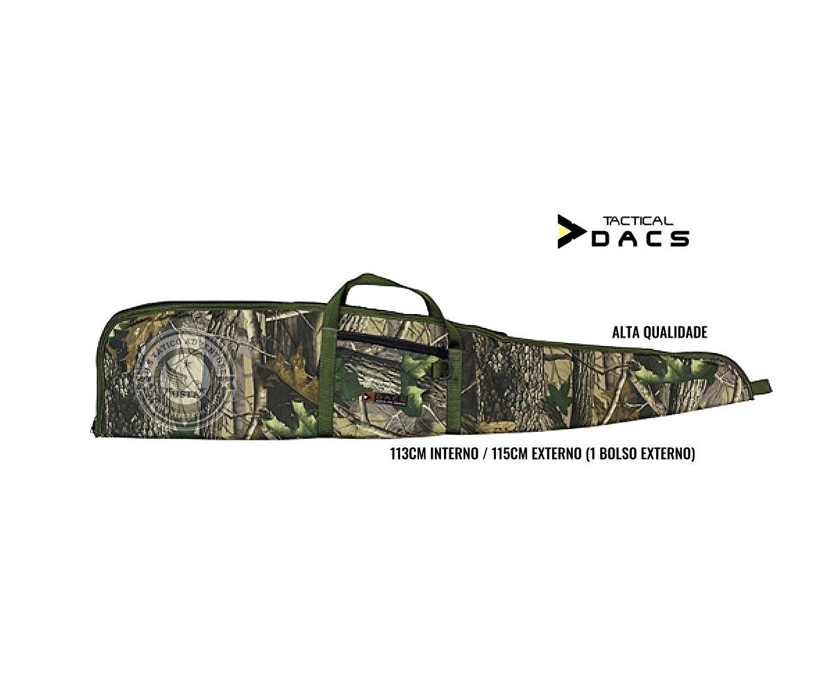 Capa Case Armas E Aeg Airsoft Média FOLHA 115CM - Tactical Dacs