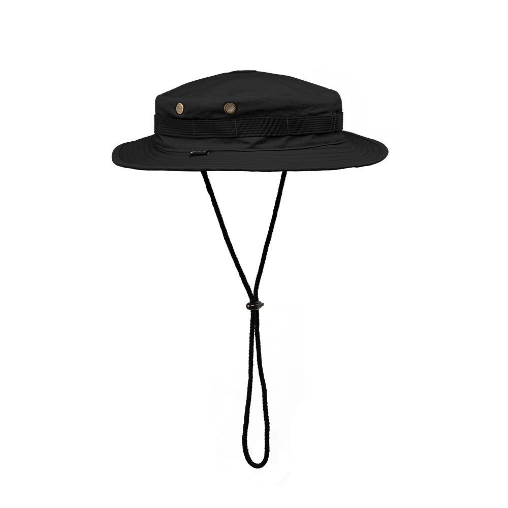 Chapéu Boonie Hat Invictus Policial Militar Airsoft Camping PRETO