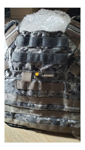 COLETE PLATE CARRIER TACTICAL DACS DIGITAL URBANO