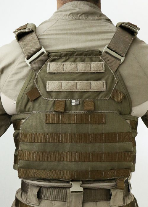 Colete Tático Militar TEMPLÁRIO TACTICAL DACS COYOTE + 4 BOLSOS 556