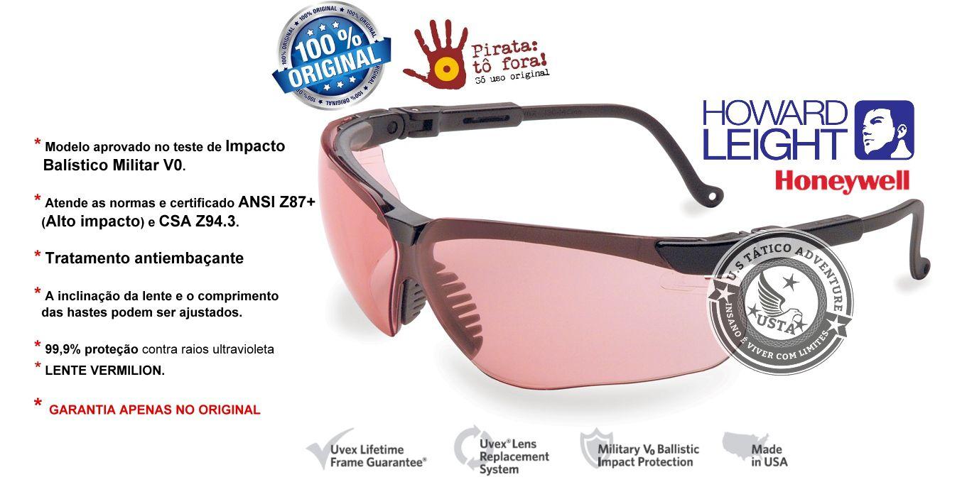 COMBO Abafador Auditivo L0F PREMIUM + ÓCULOS UVEX VERMILION Honeywell