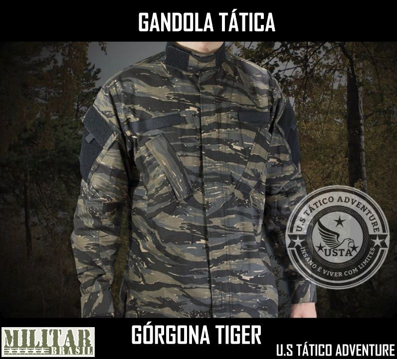 Gandola Górgona Acu Camo Ground Tiger