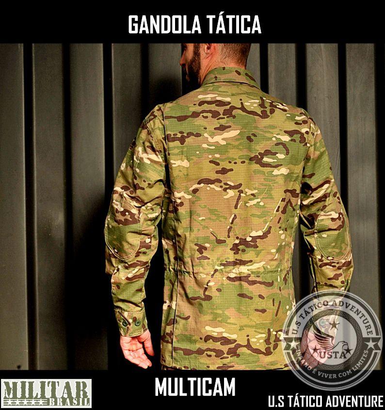 Gandola Tática Militar Ripstop Bravo - Multicam