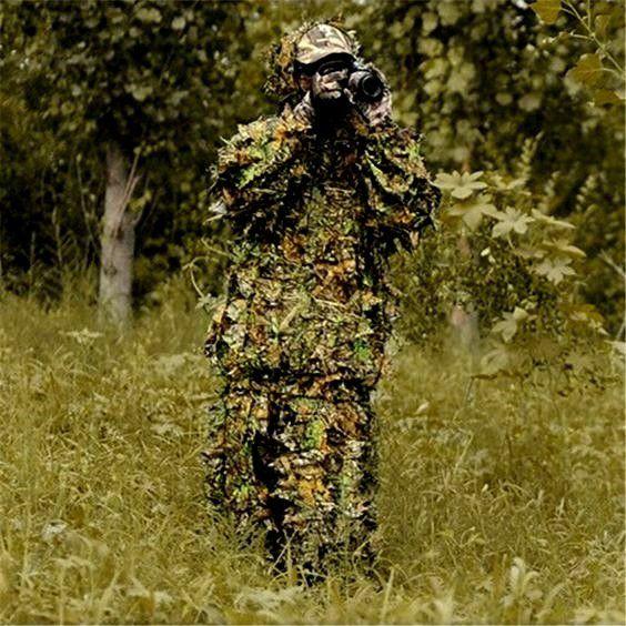 Camuflagem Sniper GHILLIE SUIT 3D BETTER