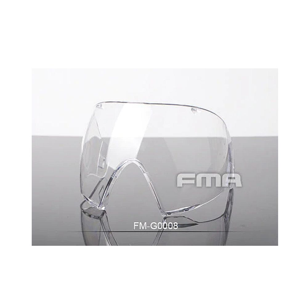Lente Single Para Máscara Fma Clear Transparente Original