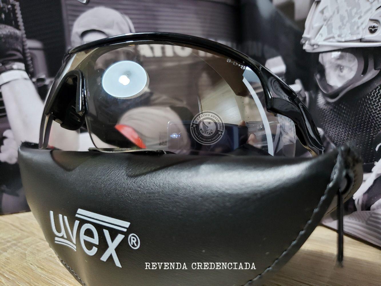 Óculos Balístico Militar Honeywell Exito Uvex Inout Original + CASE