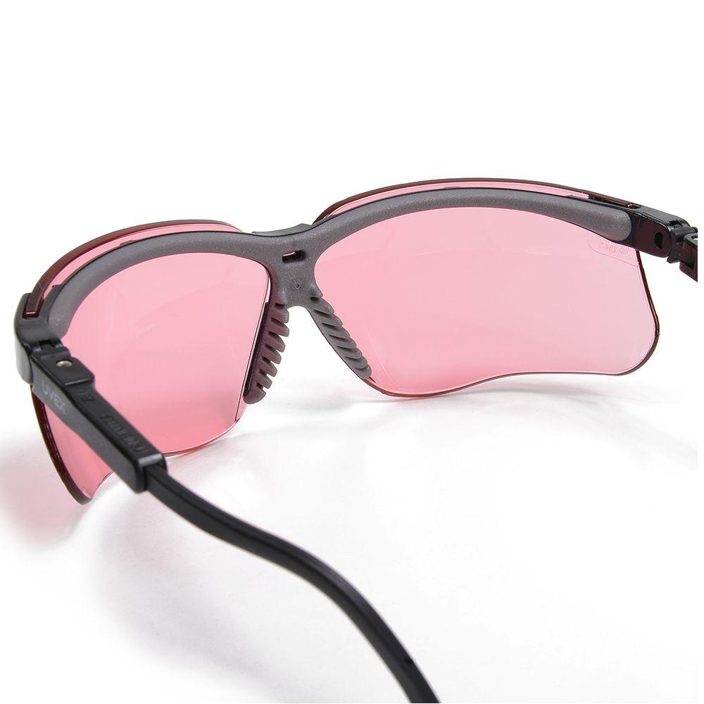 Óculos Uvex Genesis Tático Militar BALÍSTICO Honeywell - VERMILION