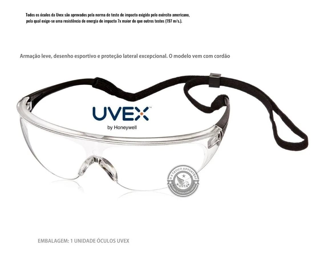 Óculos Uvex Proteção Milennia Antiembaçante