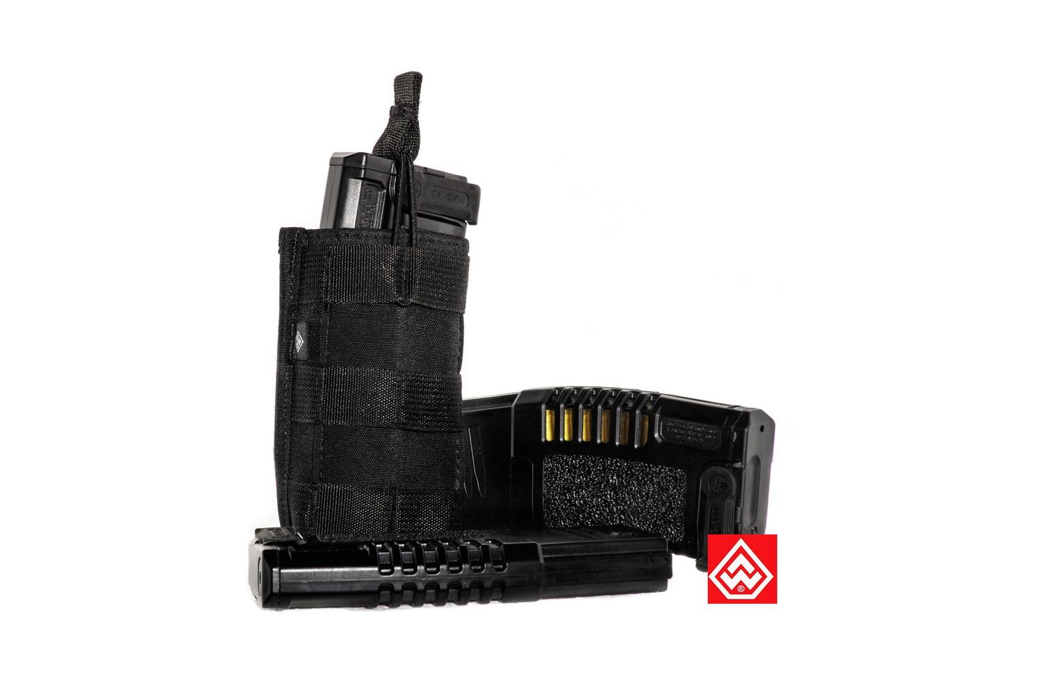 Porta Carregador Warfare 1 X 556 M.O.L.L.E Fenrir - PRETO