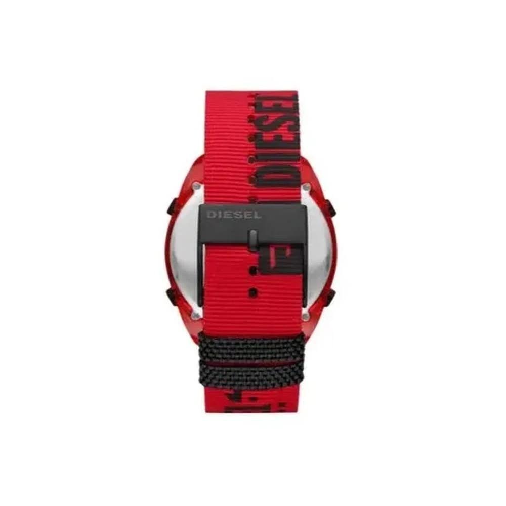 Relógio Diesel Crusher Division Masculino Vermelho DZ1916/8RN