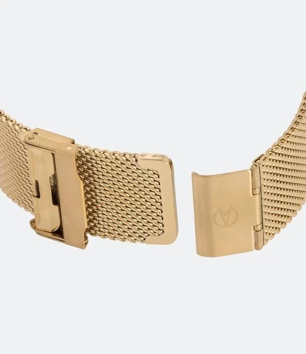 Relógio Digital Feminino Dourado - CH40080V