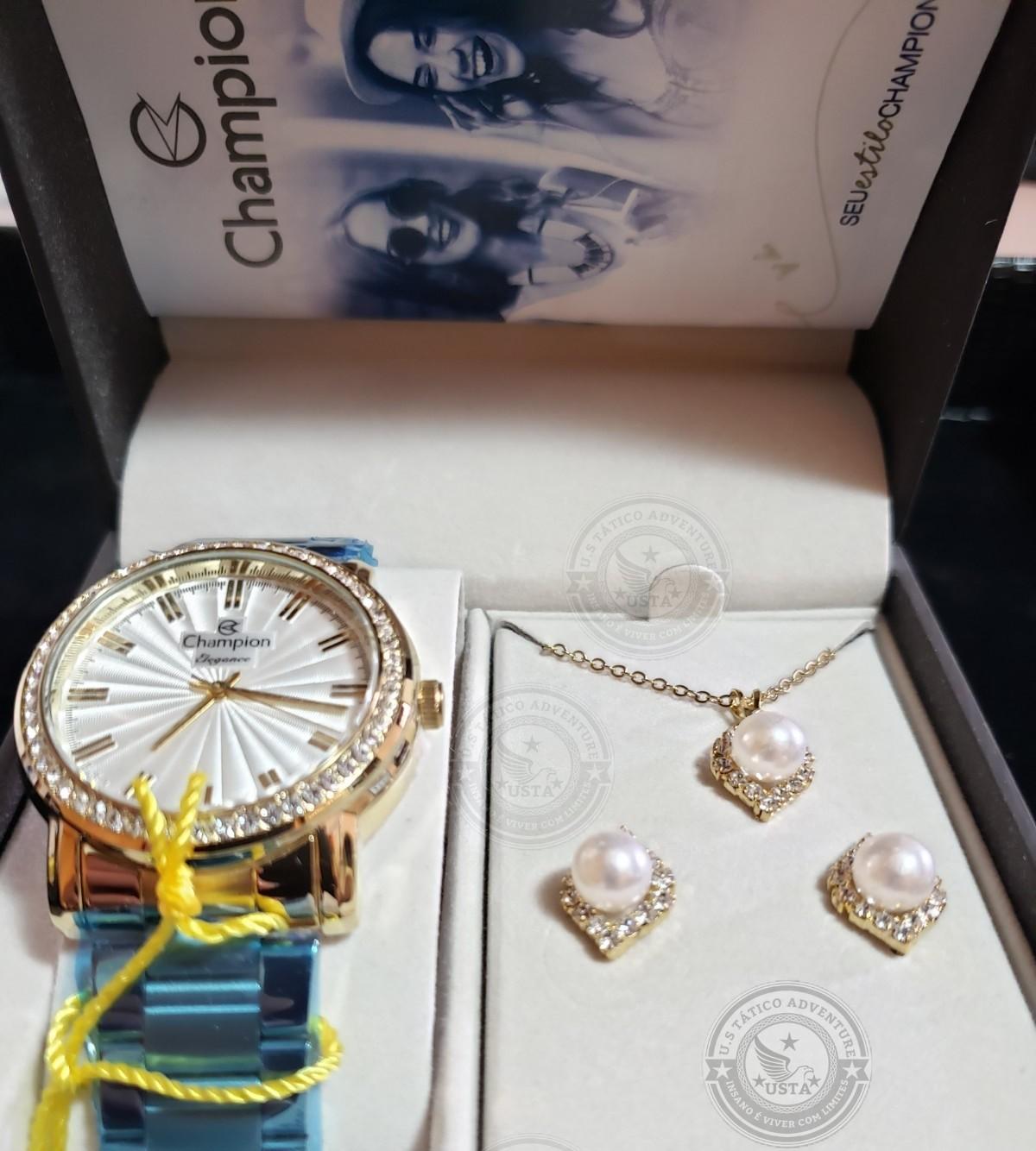 Relógio Feminino Bright Elegance Champion - CN27250W