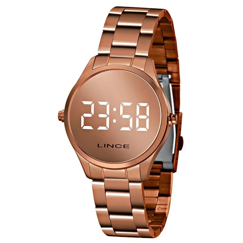 Relógio Feminino Digital Rose Lince Orient - MDR4617L BXRX