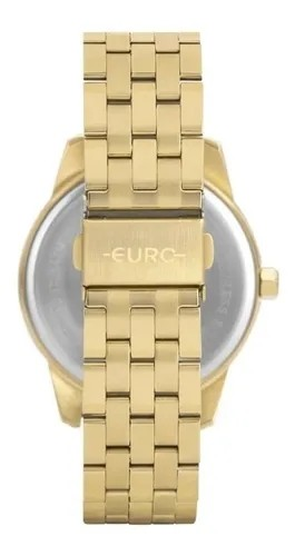 Relógio Feminino Euro Glamour + Pulseira - EU2035YRT/K4D