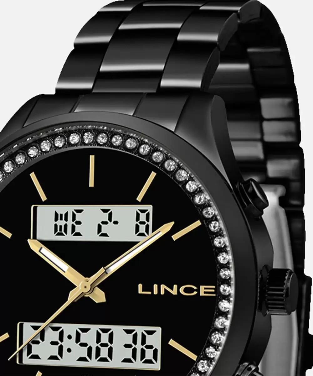 Relógio Feminino Lince Orient Black - LAN4591 P1PX