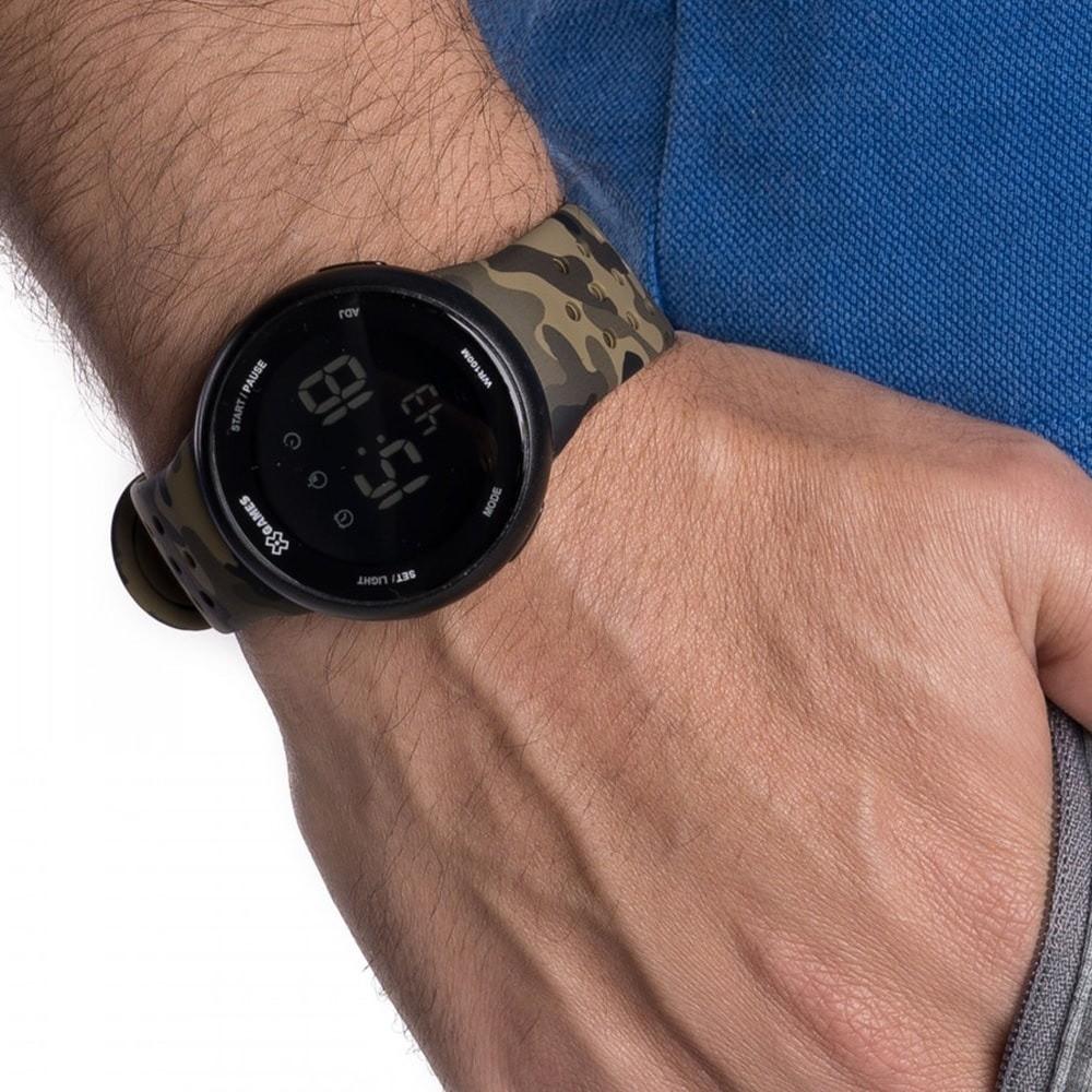 Relógio Masculino Camuflado X-Games Orient  - XMPPD486 PXEF