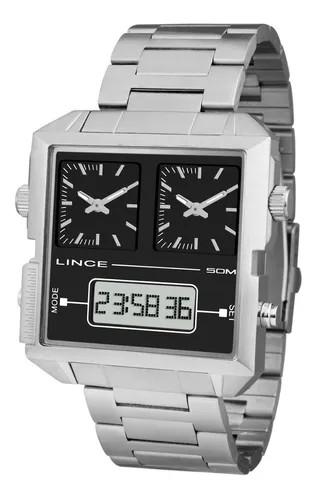 Relógio Masculino Square Lince Orient - MAM4587S P1SX