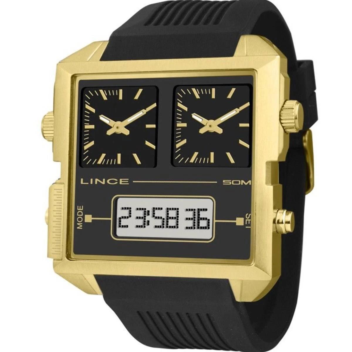 Relógio Masculino Square Lince Orient - MAP4587S P1PX