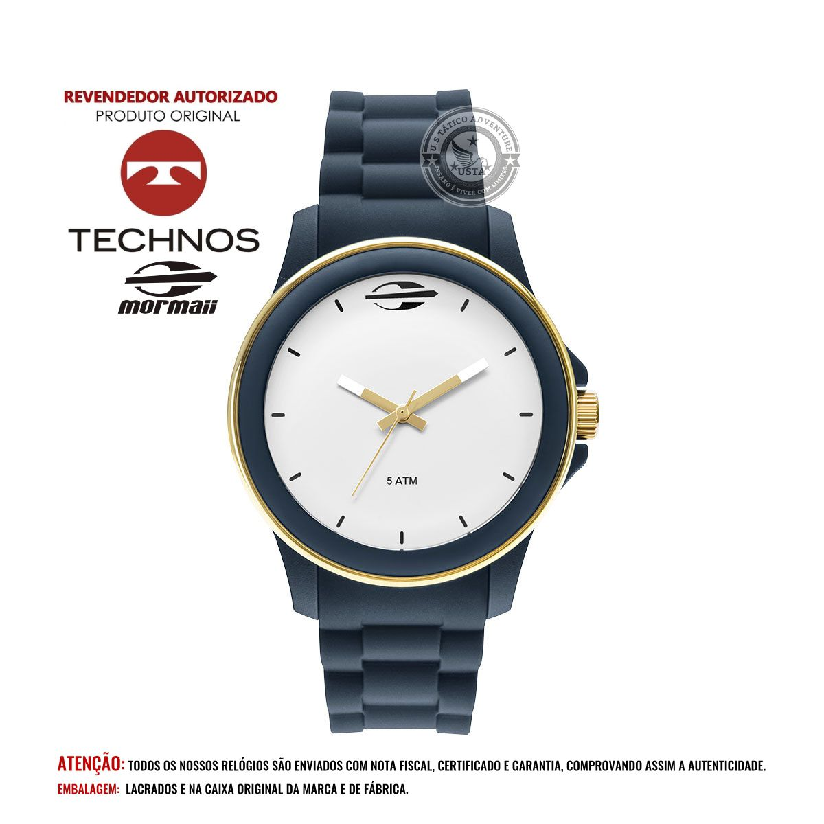 Relógio Mormaii Feminino Maui Mo2036ip Technos