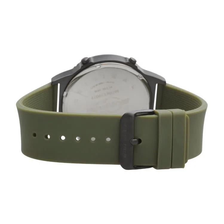 Relógio Mormaii Masculino Slim Pulseira Verde Thunder MOW13901F/8V