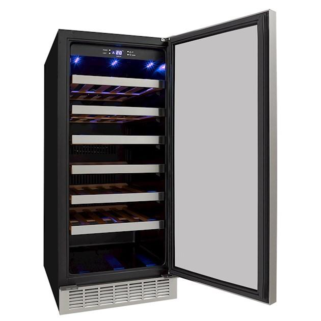 Adega Climatizada Elettromec 34 Garrafas Built-In Compressor Dual Zone