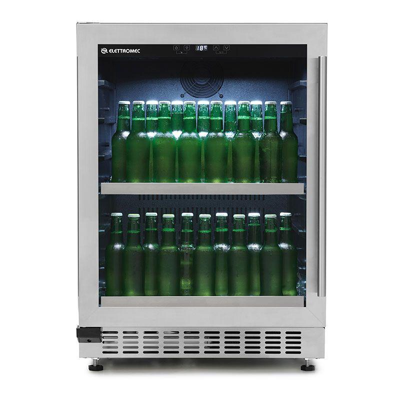 Beer Center de Embutir Elettromec 135 Litros com Abertura para Esquerda