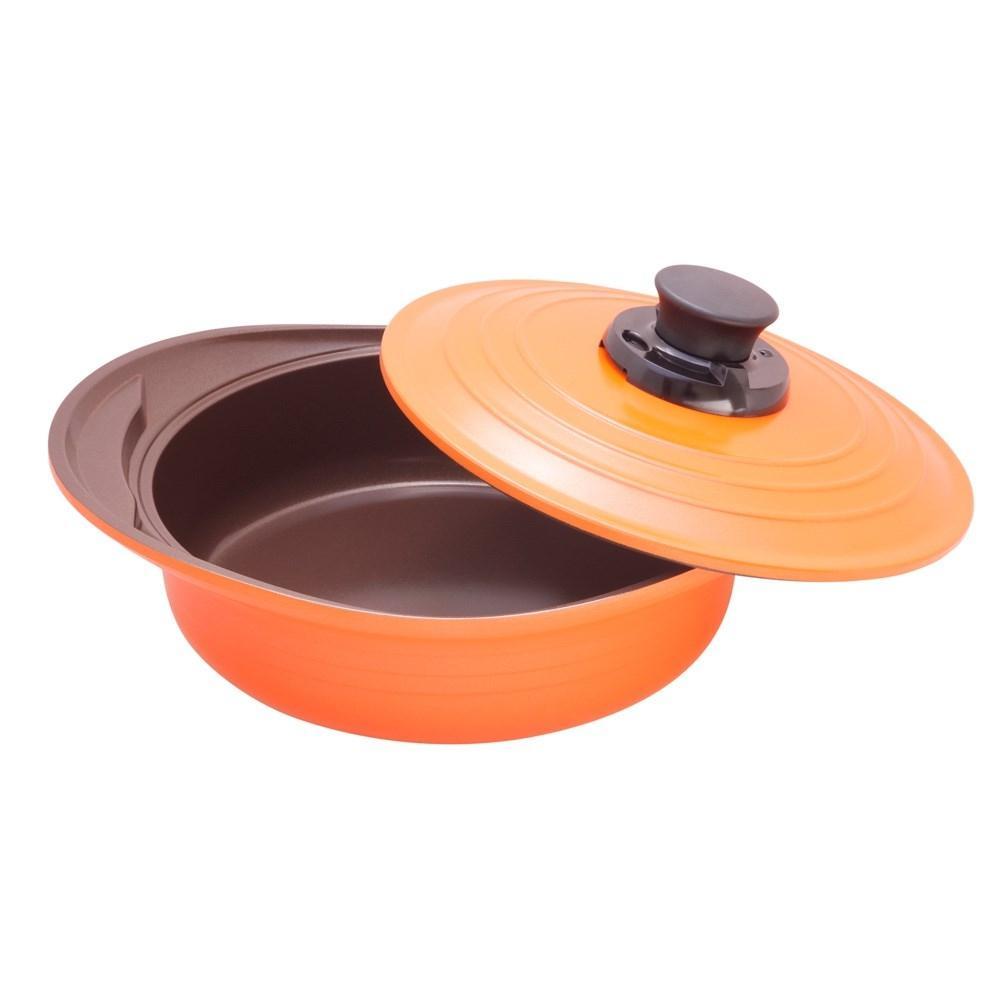 Caçarola Roichen Natural Premium Cerâmica C/ Tampa 24cm 2,8L