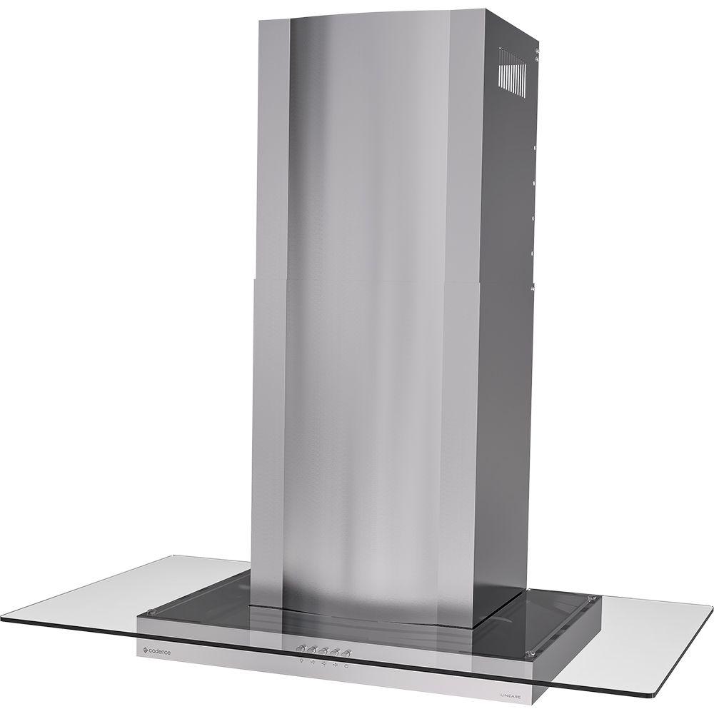 Coifa de Parede Cadence Lineare Inox 90cm CFA490