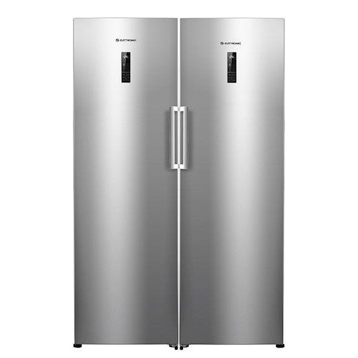 Combinado duo Elettromec Refrigerador Titanium 220V - RF-DU-360-XX-2HSA + Freezer Titanium 220V - RF-DU-360-XX-2HSA