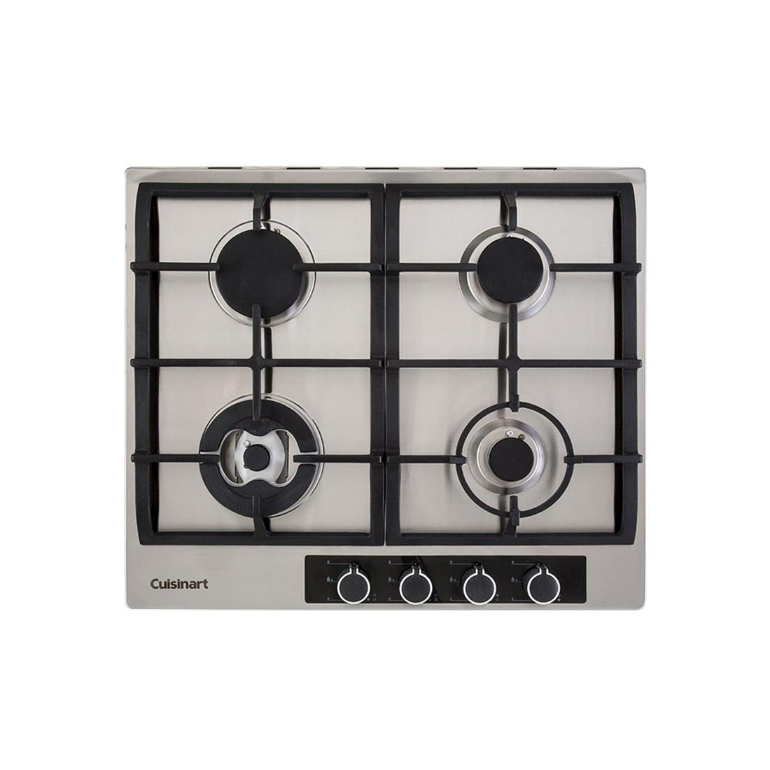 Cooktop à Gás Cuisinart Casual 4 Queimadores Inox 60cm 220V