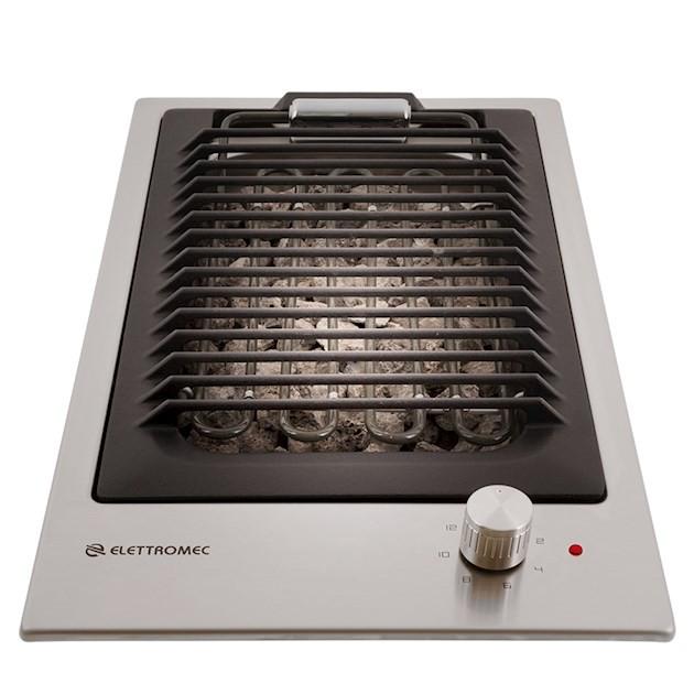 Cooktop Elettromec Dominó Elétrico Barbecue Inox 30cm 220V