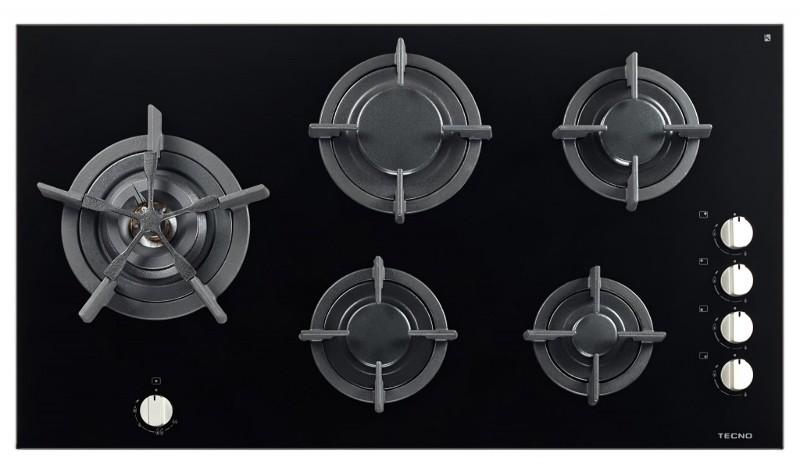 Cooktop Tecno THV90L 5Q a Gás Vitrocerâmico 90cm 220v