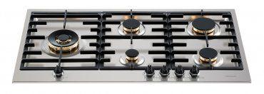 Cooktop Tecno Tripla Chama Lateral 5 Queimadores TH90GX5L2 90cm