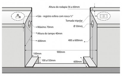 Fogão Lofra Rainbow Branco 5Q 90X60 Forno Multifunções