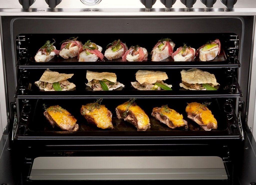Fogão Master Bertazzoni MAS1206GMFEDXT 120cm Inox 2 Fornos Elétricos e Grill de mesa