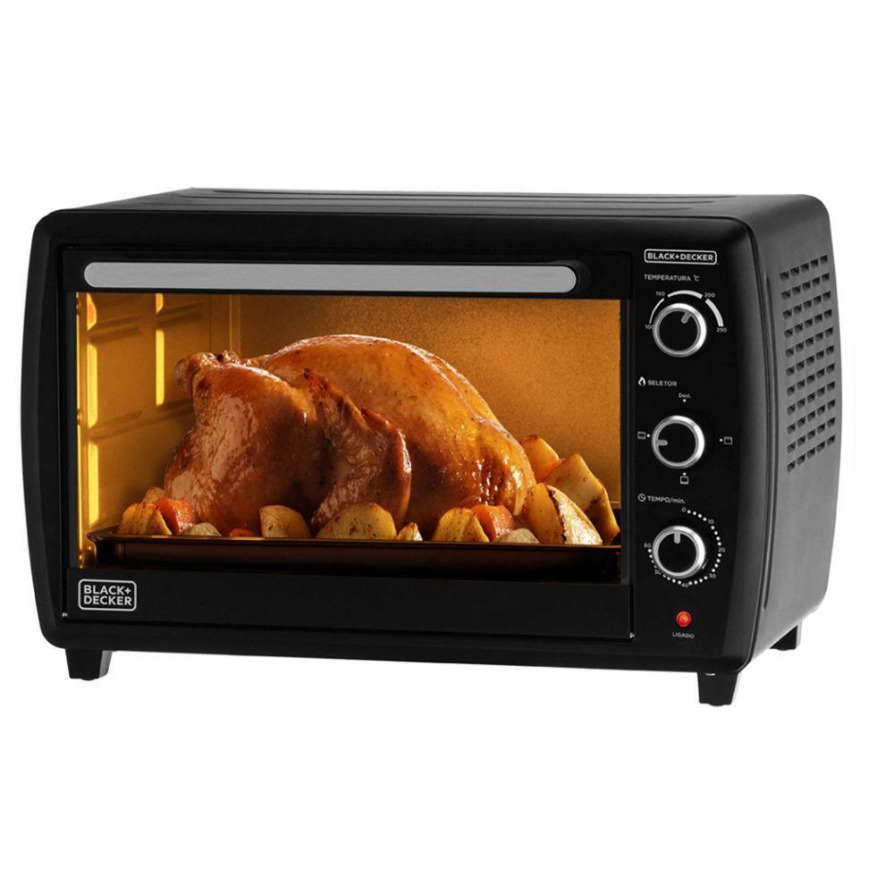 Forno Elétrico Black And Decker 45L FT45