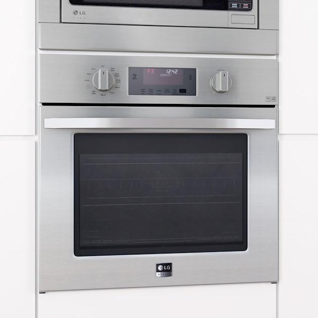 Forno Elétrico Multifunções Pirolítico LG Studio LSWS306ST Inox 75cm