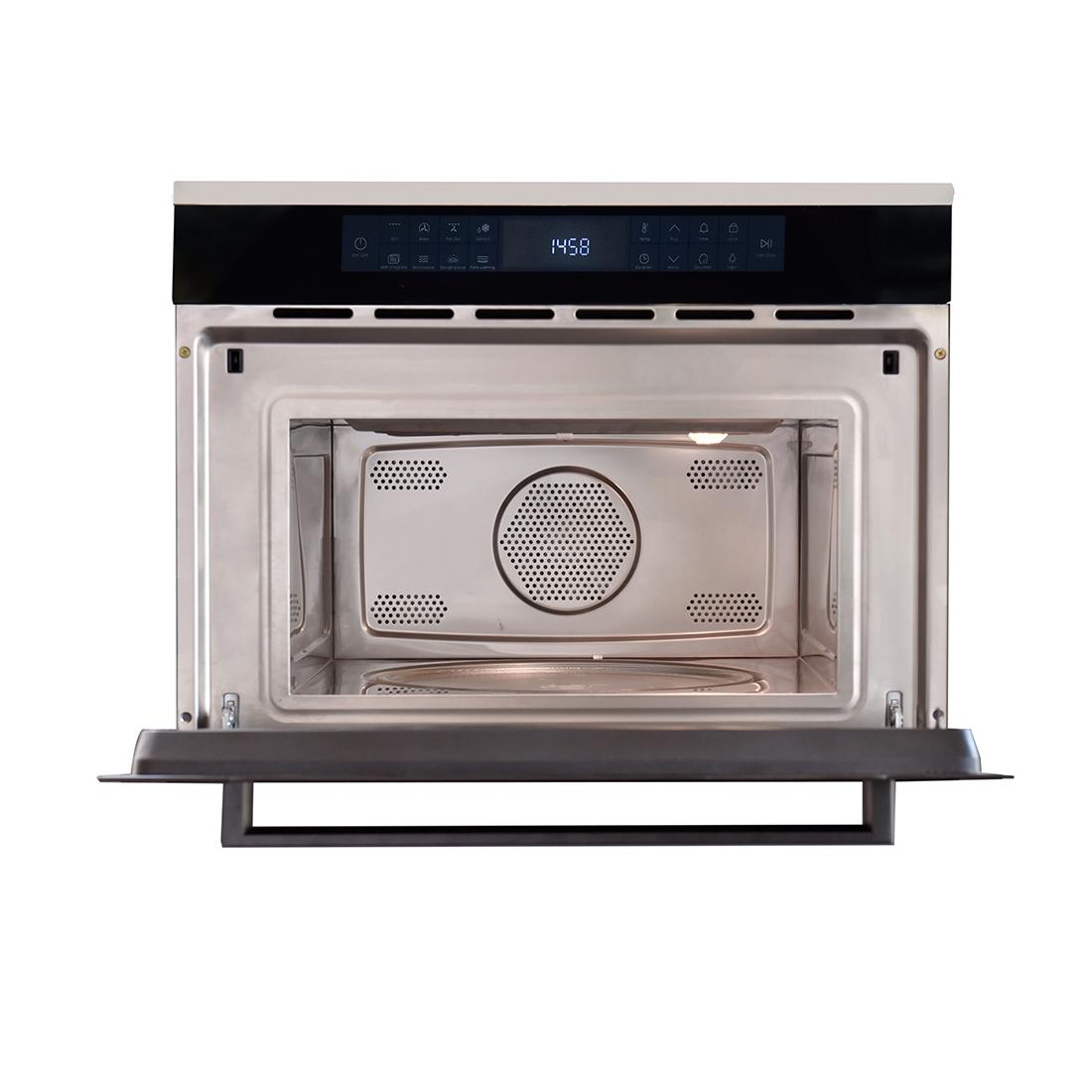 Forno Micro-ondas Cuisinart Arkton com Grill Elétrico Inox 60cm 38 Litros 220V
