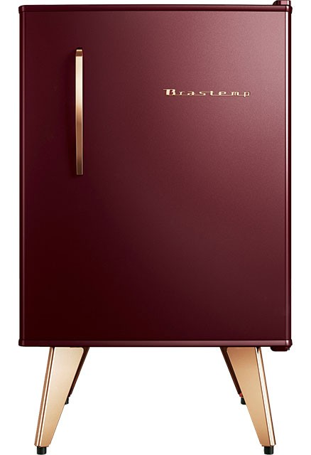 Frigobar Brastemp Retrô 76L Marsala Wine