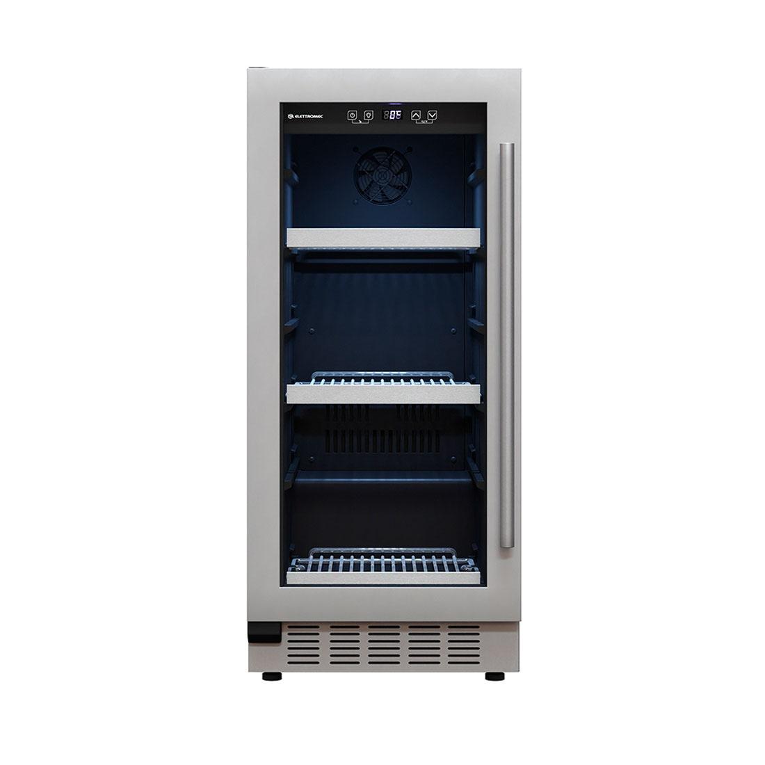 Frigobar Elettromec de Embutir 86 Litros  Inox 220V