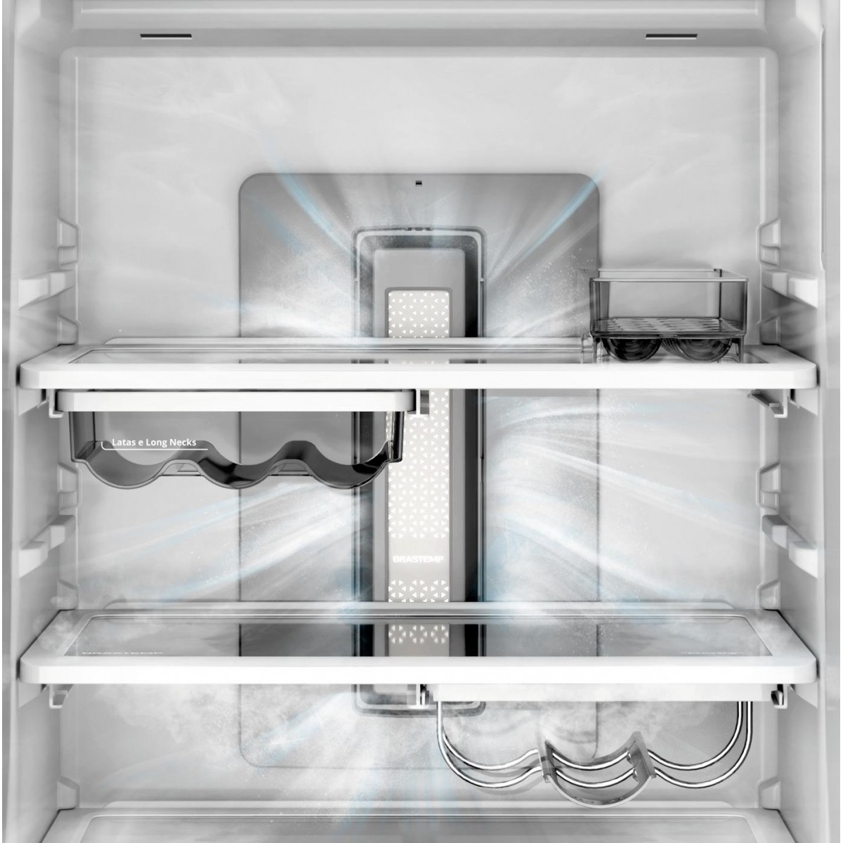Geladeira Brastemp Inverse Frost Free 460 litros - BRE59AK