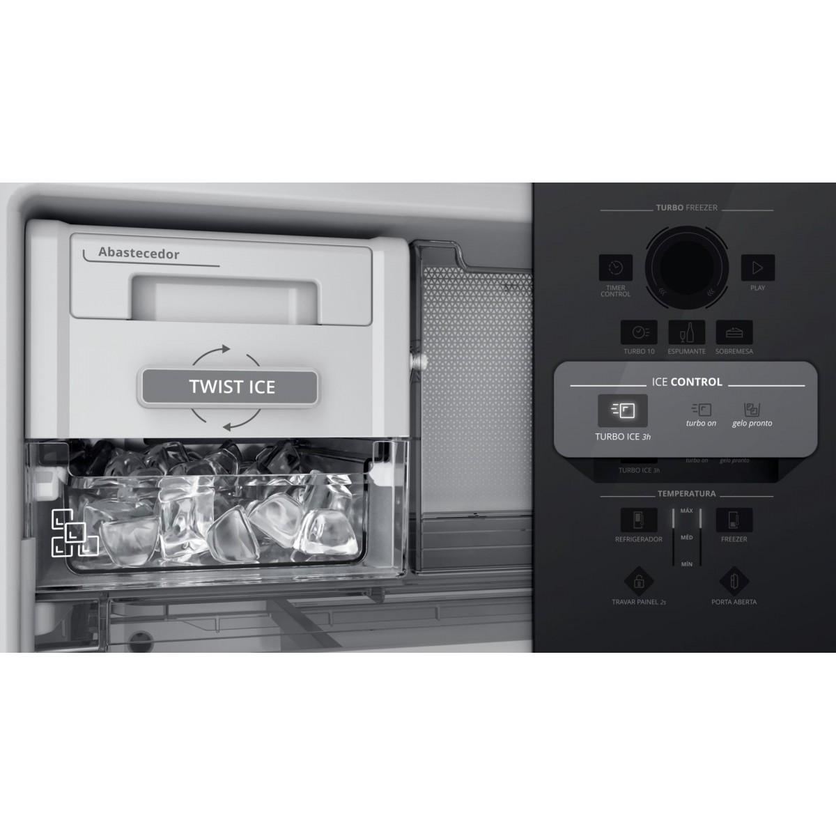 Geladeira Brastemp Inverse Frost Free 478 litros - BRE58AB