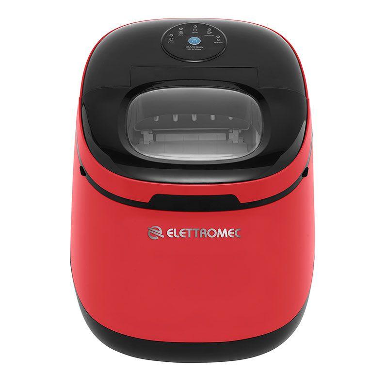 Ice Maker Portátil Vermelha Elettromec