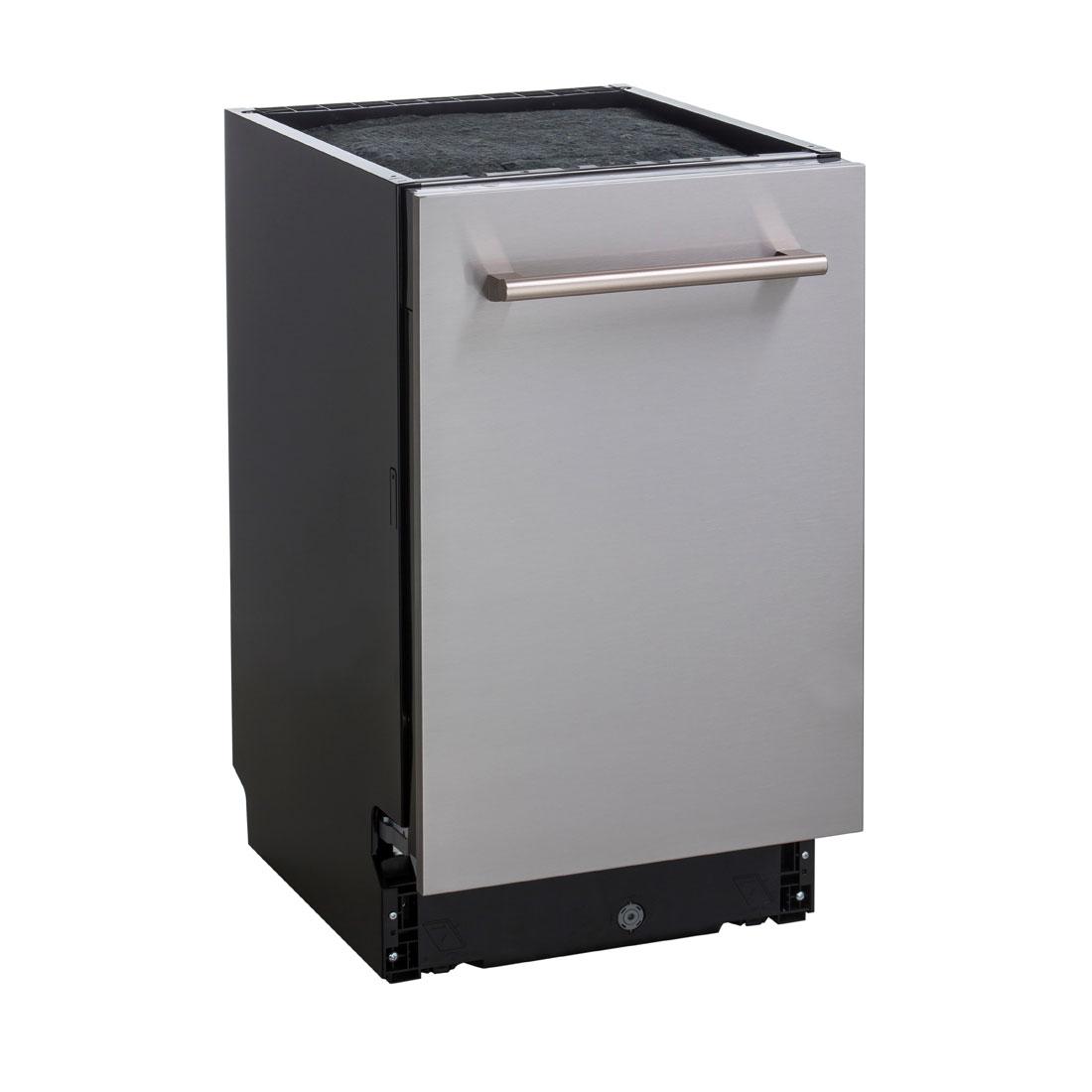 Lava-Louças de Embutir Cuisinart Casual Cooking 10 serviços Inox 45cm 220V