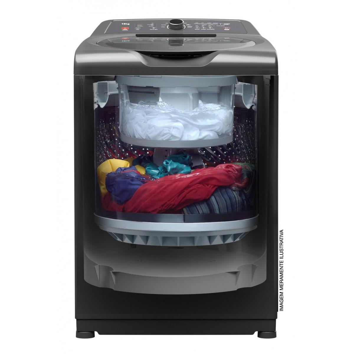 Lavadora Brastemp Dual Wash 15Kg - BWD15A9